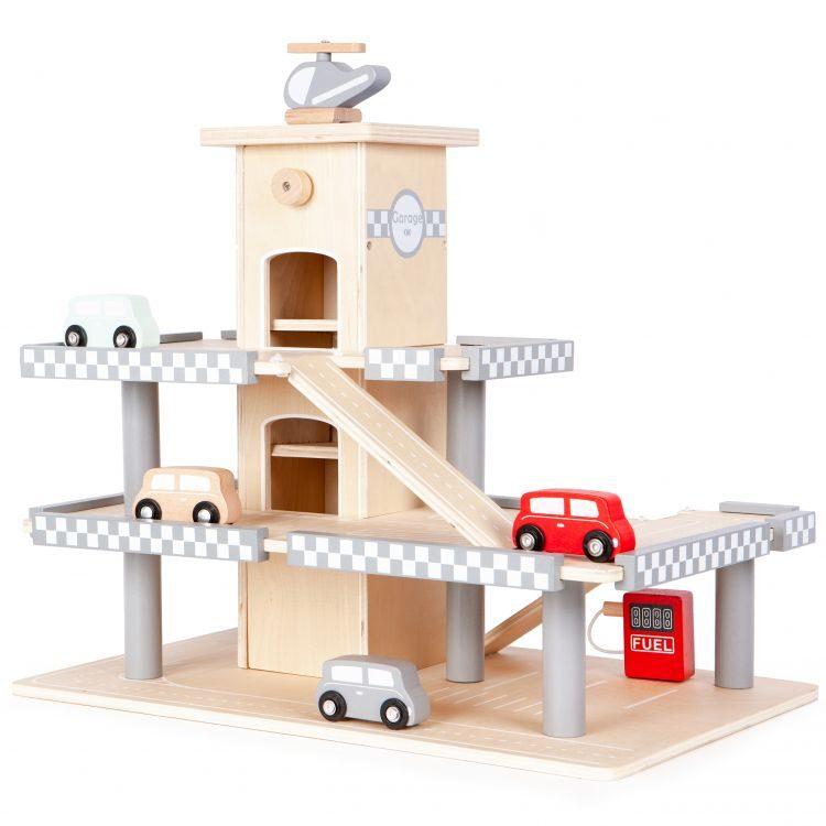 EcoToys rotaļu auto stāvvieta CA12104