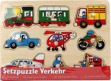 7086 Small Foot koka puzle Transports