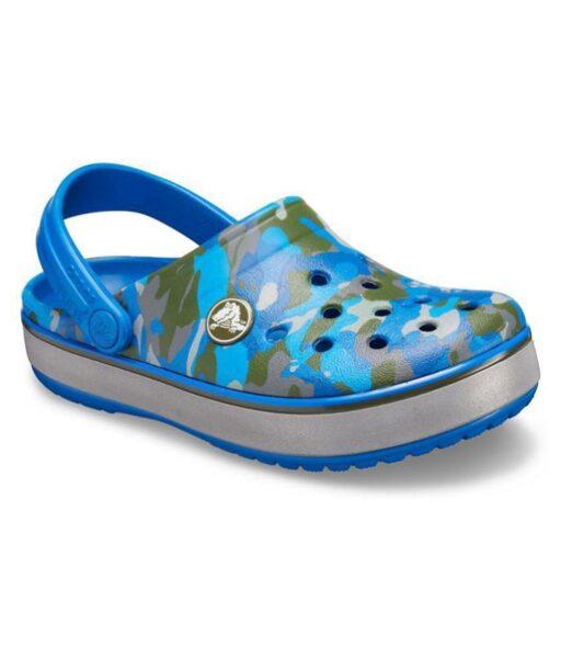Crocs CB 26. izm. Camo Reflect Band Clog bērnu sandales