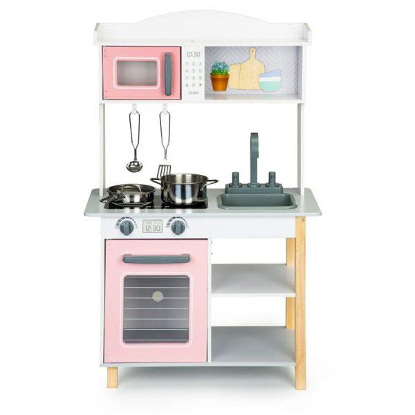 EcoToys rotaļu virtuve ar piederumiem 7255