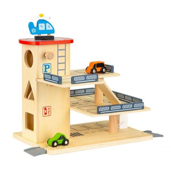 EcoToys rotaļu auto stāvvieta 1081
