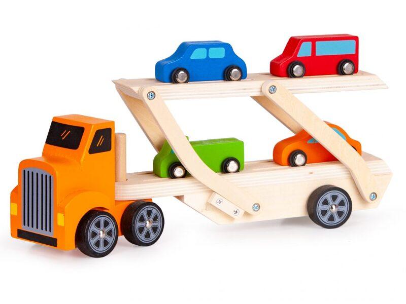 EcoToys koka automašīna vilcējs 2243