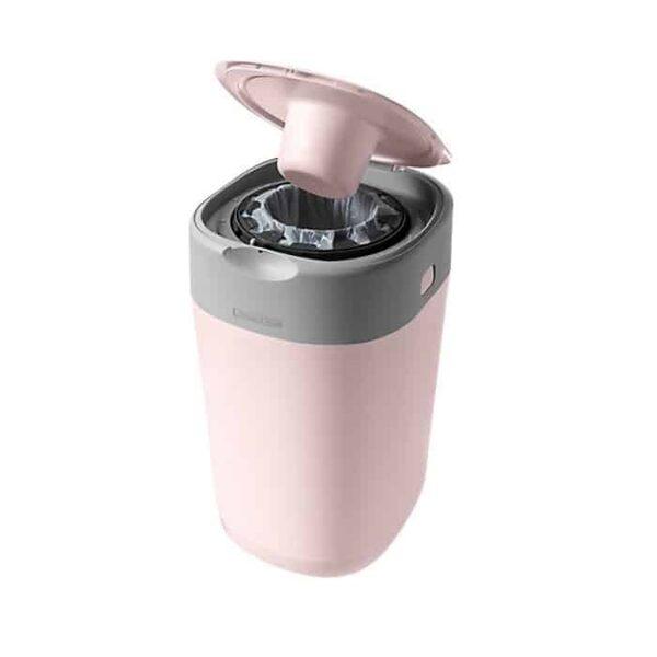 Tommee Tippee autiņbiksīšu konteiners Twist & Click +1 kasete, pink