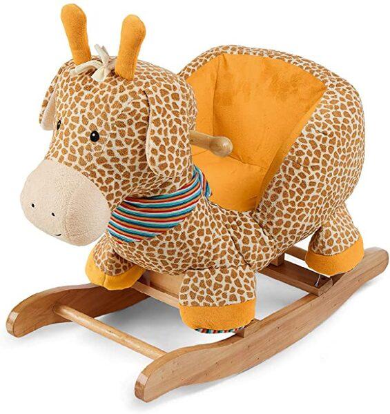 Sterntaler Žirafe, bērnu koka šūpoles
