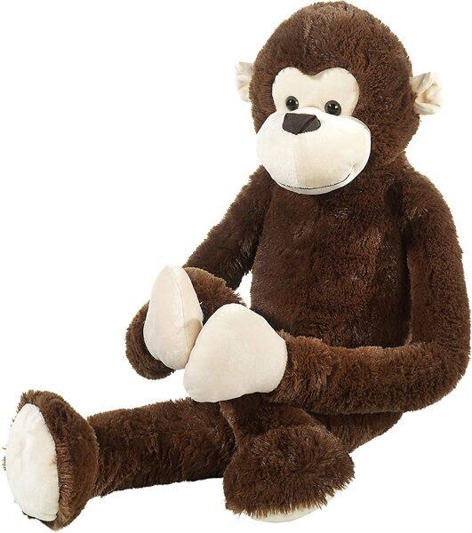 Heunec Cuddly mīkstā rotaļlieta mērkaķis