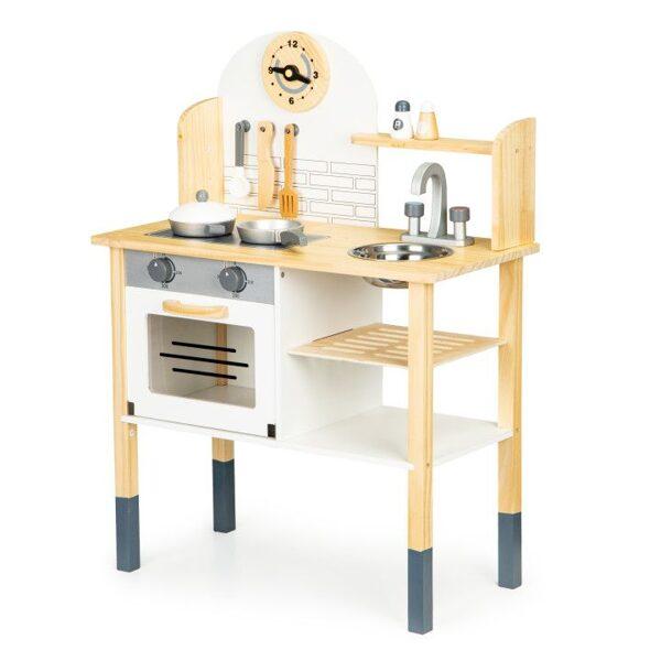 EcoToys koka rotaļu virtuve TL80021
