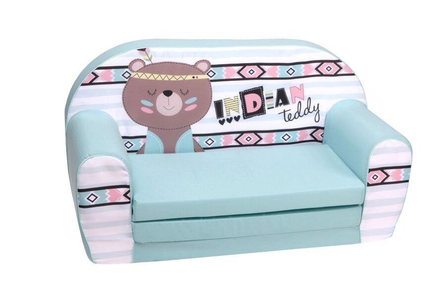 Delta Trade bērnu mīkstais izvelkamais dīvāns DT2 1929