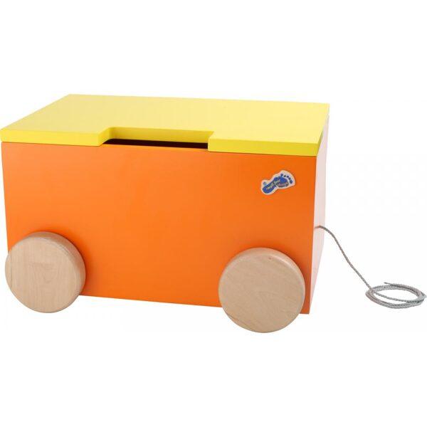 1213 Small Foot velkama rotaļlietu kaste Suns
