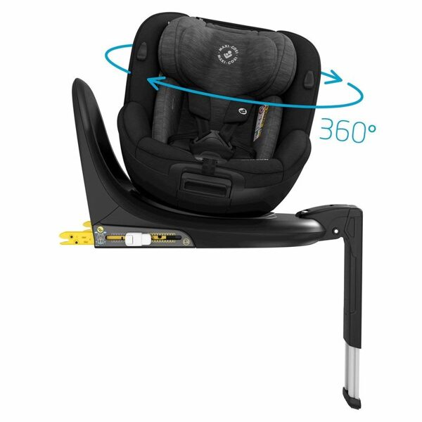 Maxi Cosi MIca, 0-18kg, 2020, Authentic Black