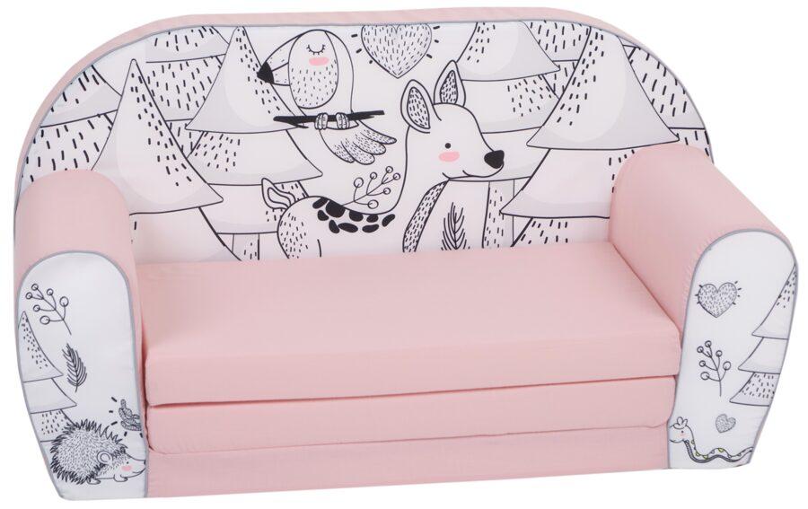Delta Trade bērnu mīkstais izvelkamais dīvāns DT2 20139