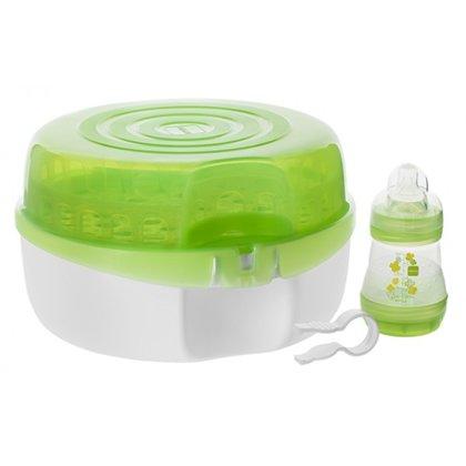 MAM sterilizācijas trauks+pudelīte, zaļš