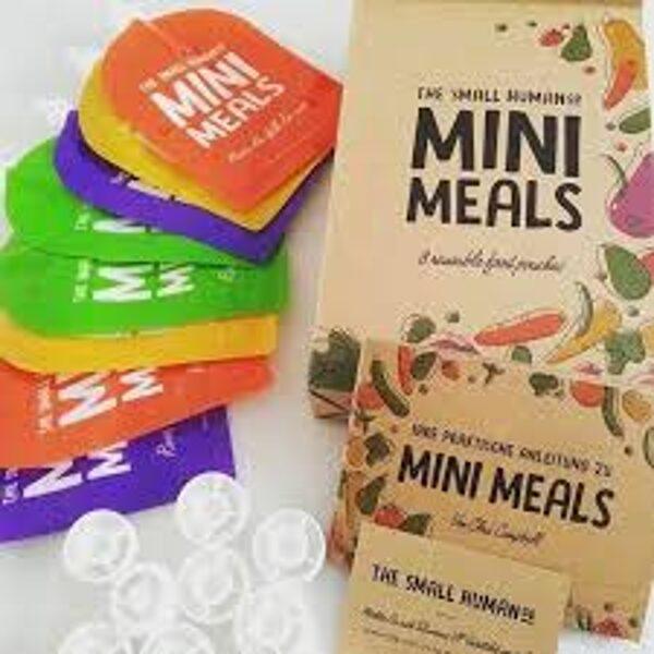Mini Meals vairākkārt uzpildāmi ēdiena maisiņi 8gb