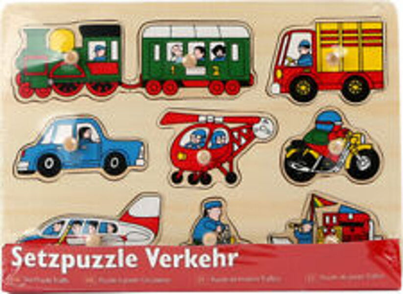 7086 Small Foot koka puzle Transports