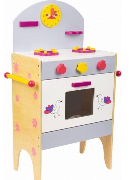 4721 Small Foot koka rotaļu virtuve ar piederumiem
